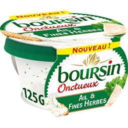 Boursin Boursin Fromage Onctueux ail & fines herbes le pot de 125 g