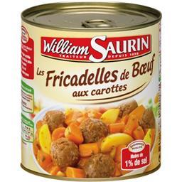 Les Boulettes au Bœuf carottes et pommes de terre