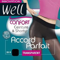 Accord Parfait - Collant confort T4 noir
