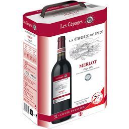 La Croix La croix du pin Merlot, vin rouge la fontaine de 5 L