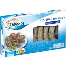 Odyssée Crevettes tropicales la boite de 400 g