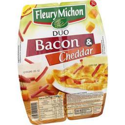 Duo bacon & Cheddar