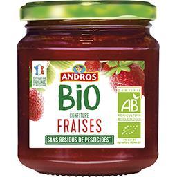 Andros Andros Confiture fraises BIO le pot de 355 g