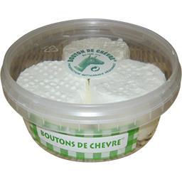 Boutons de chèvre au lait cru 31% de MG
