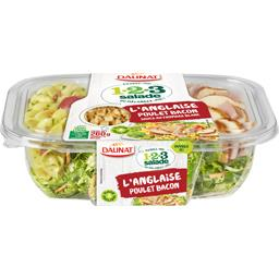 1 2 3 Salade - Salade l'Anglaise poulet bacon sauce fromage