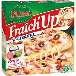 Fraîch'Up - Pizza So Creamy Reine Blanche