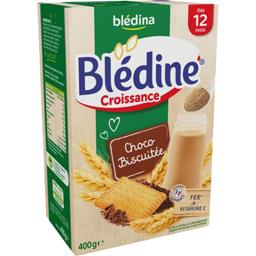 Blédine Croissance - Céréales instantanées choco-bis...