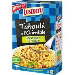 Taboulé à l'orientale, petits légumes & menthe