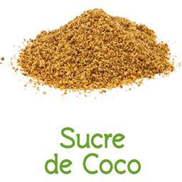 Sucre de coco BIO en VRAC