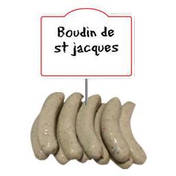 Boudin de st jacques