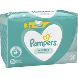 Pampers lingettes sensitive bébé