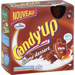 Candy'Up - Crème dessert chocolat