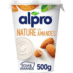 Alpro Alpro Produit fermenté nature aux amandes le pot de 500 g