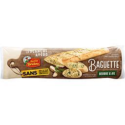 Justin Bridou Justin Bridou La Baguette Apéro beurre et ail le sachet de 175 g