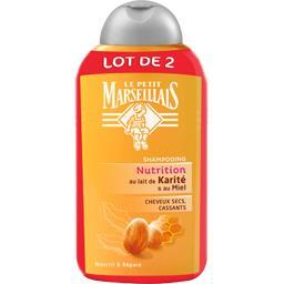 Shampooing nutrition au lait de karité et miel