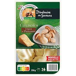 Saveur d'Italie - Pâtes Girasoles cèpes et parmesan