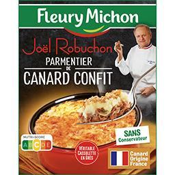 Fleury Michon Fleury Michon & Joël Robuchon - Parmentier de canard confit la boite de 320 g