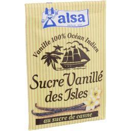 Sucre vanillé des Isles au sucre de canne