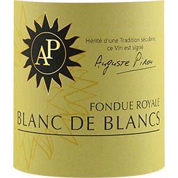 Vin de pays Blanc de Blancs Fondue Royale, vin blanc