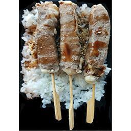 Sushi yakitori bœuf fromage