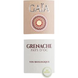 Vin de Pays d'Oc Gaïa Grenache BIO, vin blanc