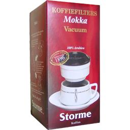 Storme - Café-Filtres Décaféiné (100% Arabica) 10 Pièces