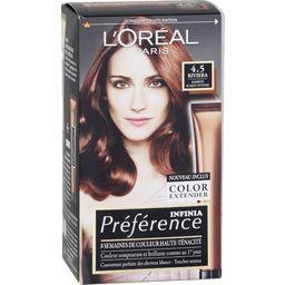 L'Oréal L'Oréal Paris Infinia Préférence - Coloration marron acajou intense 4.5 le kit