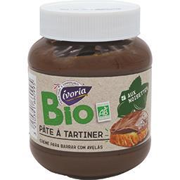 Pâte à tartiner aux noisettes et au cacao BIO