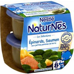 Les Sélections - Epinards saumon, dès 8 mois