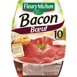 Bacon bœuf