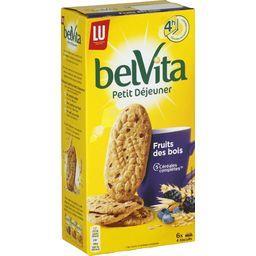 Belvita Petit Déjeuner - Biscuits 5 céréales complètes Fruits des bois