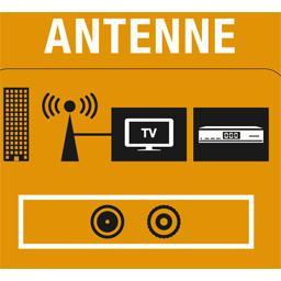 Adaptateurs coaxial TV mâle/fiche mâle F