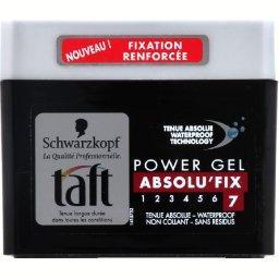 Taft - Gel power tenue absolue, waterproof, Absolu'Fix