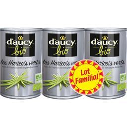 D'aucy BIO - Les Haricots Verts coupés BIO