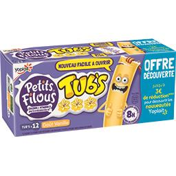 Petits Filous Tub's - Spécialité laitière goût vanille