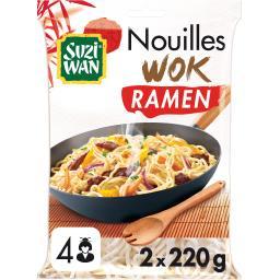 Suzi Wan Suzi Wan Nouilles pour wok les 2 sachets de 200 g