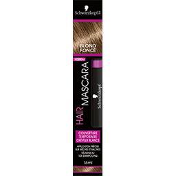 Mascara pour cheveux Blond Foncé