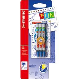 Fun - Recharges Roller bleu