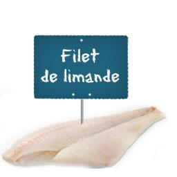 Filet de LIMANDE La portion à la demande à partir de 300gr