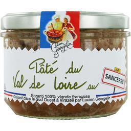Lucien Georgelin Pâté du Val de Loire au Sancerre le pot de 220 g