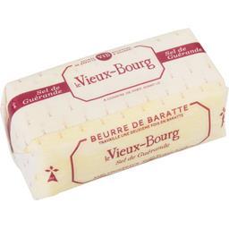 Beurre de baratte demi-sel, au sel de Guérande