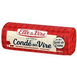 Beurre de la laiterie de Condé-sur-Vire demi-sel