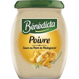 Bénédicta Bénédicta Sauce poivre de Madagascar le pot de 260 g