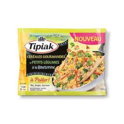 Tipiak Céréales gourmandes et petits légumes à la bretonne ... le sachet de 500 g