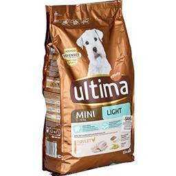 Croquettes pour chien Spécial Mini Light riches en v...