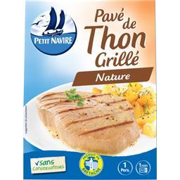 Pavé de thon grillé
