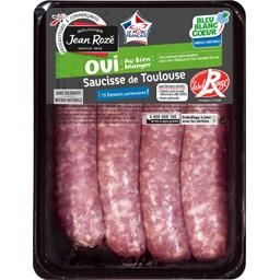 Saucisses de Toulouse Label Rouge