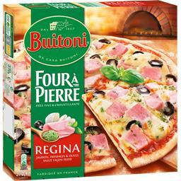 Buitoni Buitoni Four à Pierre - Pizza Regina la boite de 370 g
