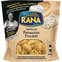 Giovanni Rana Rana Tortellini fromages italiens le paquet de 250 g
