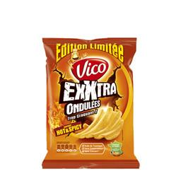 Chips Exxtra ondulées saveur Hot & Spicy